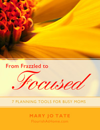 From Frazzled to Focused: 7 Planning Tools for Busy Moms